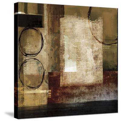 Manhattan Melody-Keith Mallett-Stretched Canvas Print