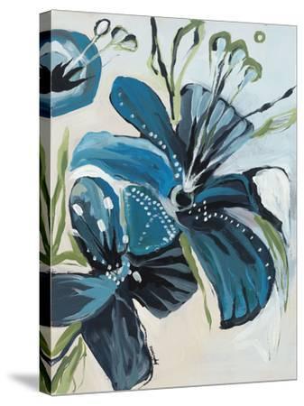 Flowers of Azure I-Angela Maritz-Stretched Canvas Print