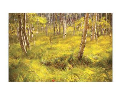 Whispering Grass-Michael Hudson-Framed Giclee Print