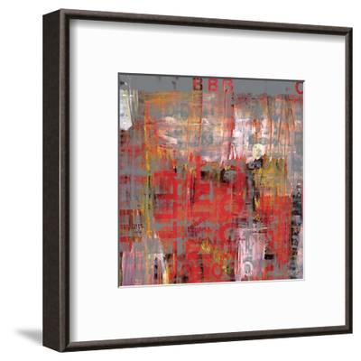 Letra Art XIII-Sven Pfrommer-Framed Giclee Print