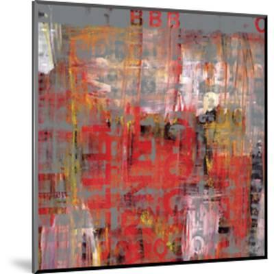 Letra Art XIII-Sven Pfrommer-Mounted Giclee Print