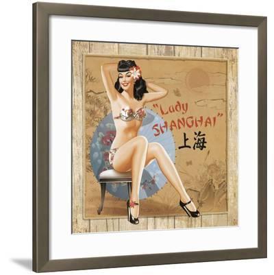 Shangaï-Bruno Pozzo-Framed Art Print