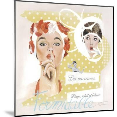 Formidable-Lizie-Mounted Art Print