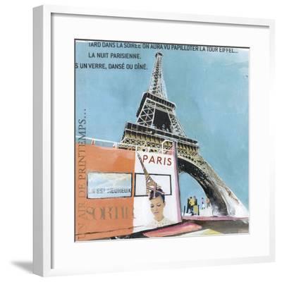 Tour Eiffel-Lizie-Framed Art Print