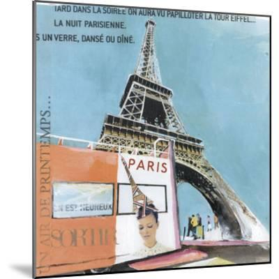 Tour Eiffel-Lizie-Mounted Art Print