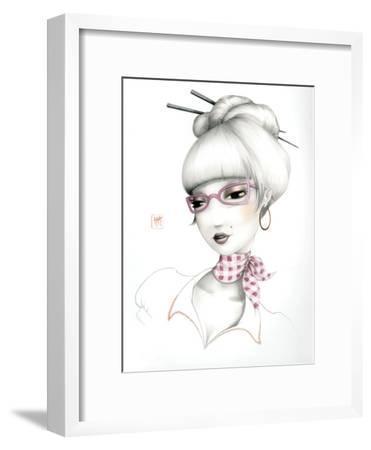 Vera-Misstigri-Framed Art Print