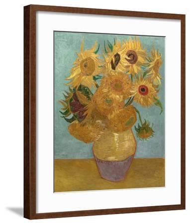 Sunflowers, c.1889-Vincent van Gogh-Framed Art Print