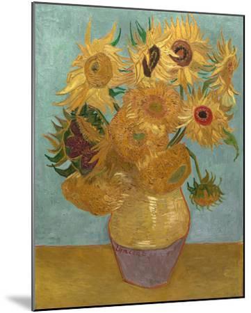 Sunflowers, c.1889-Vincent van Gogh-Mounted Art Print