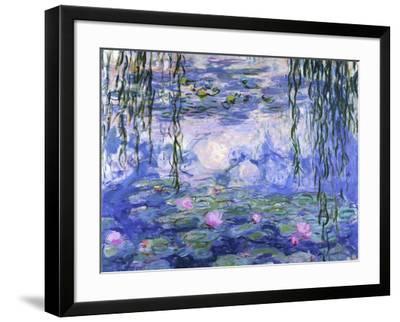 Water Lilies (Nymphéas), c.1916-Claude Monet-Framed Art Print