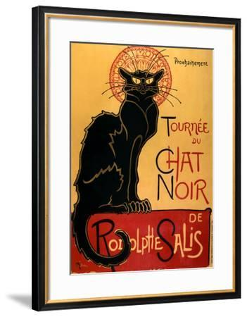 Tournée du Chat Noir, c.1896-Th?ophile Alexandre Steinlen-Framed Art Print