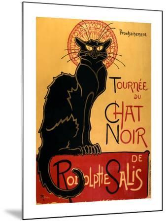Tournée du Chat Noir, c.1896-Th?ophile Alexandre Steinlen-Mounted Art Print