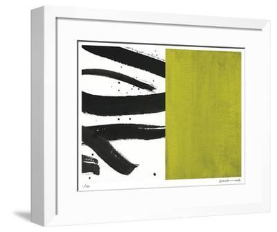 Zen Bamboo-Maria Lobo-Framed Giclee Print