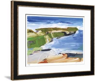 Ocean Cliffs-Barbara Rainforth-Framed Giclee Print