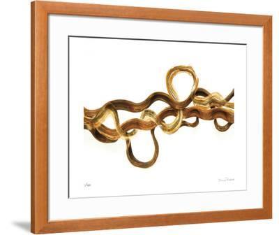 Entwined No 2-Shams Rasheed-Framed Giclee Print