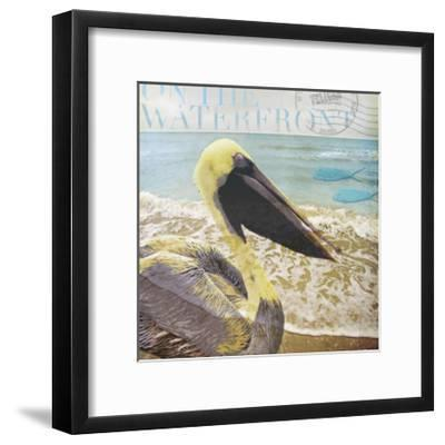On the Waterfront-Donna Geissler-Framed Giclee Print