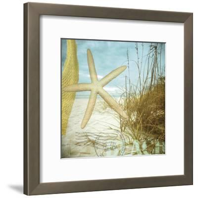 To the Beach-Donna Geissler-Framed Giclee Print