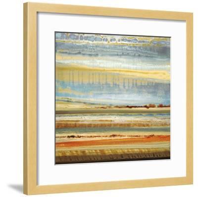 Earth Layers I-Selina Rodriguez-Framed Giclee Print