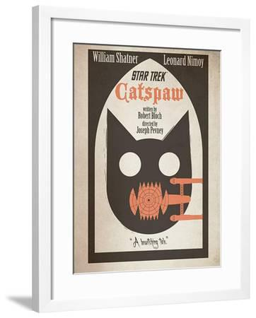 Star Trek Episode 36: Catspaw TV Poster--Framed Poster