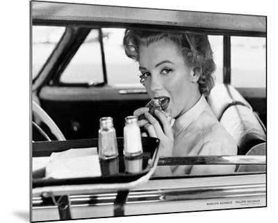 Marilyn Monroe at the Drive-In, 1952-Philippe Halsman-Mounted Art Print
