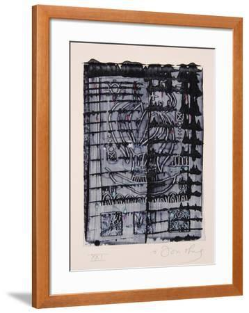 Dialects of Paradise I - Darker-Tighe O'Donoghue-Framed Collectable Print