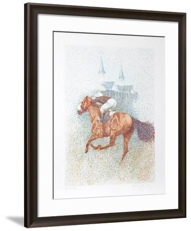 Twin Spires-Guillaume Azoulay-Framed Serigraph