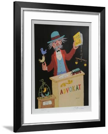 Advocat-Jovan Obican-Framed Collectable Print