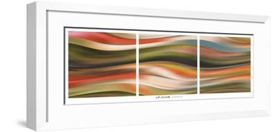 Curve 45 (triptych)-J^P^ Clive-Framed Art Print