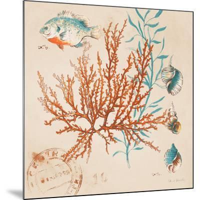 Coral Medley I-Lanie Loreth-Mounted Art Print