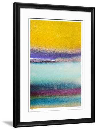 Rothkoesque 2-Mj Lew-Framed Giclee Print