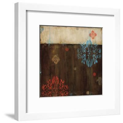 Damask Patterns II-Wani Pasion-Framed Giclee Print