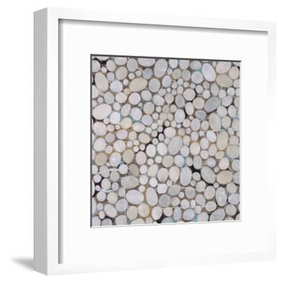 River Pebbles-Isabel Lawrence-Framed Giclee Print