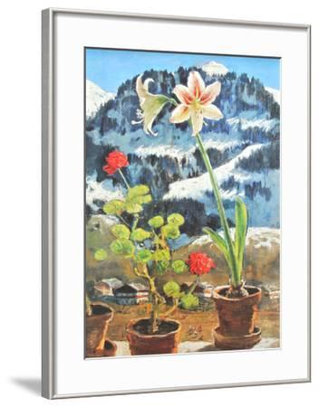 Amaryllis-Alfons Walde-Framed Art Print