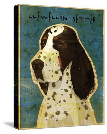 Llewellin Setter-John Golden-Stretched Canvas Print