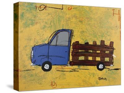Big Blue-Brian Nash-Stretched Canvas Print