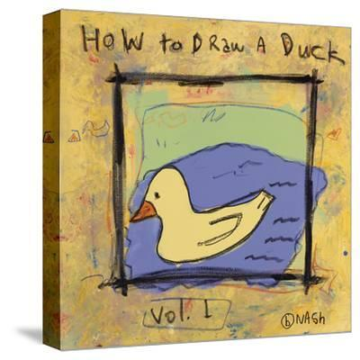 How to Draw a Duck-Brian Nash-Stretched Canvas Print