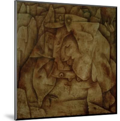 Bewitched Petrified-Paul Klee-Mounted Giclee Print