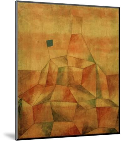 Castle Hill-Paul Klee-Mounted Giclee Print