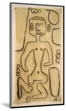Collect Oneself-Paul Klee-Mounted Giclee Print