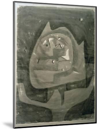 Gotze im Fieberland-Paul Klee-Mounted Giclee Print