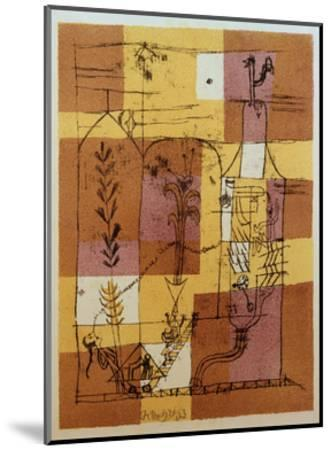 Hoffmanesque Scene-Paul Klee-Mounted Giclee Print