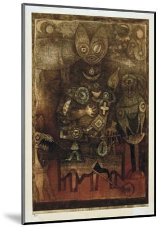Magic Theatre-Paul Klee-Mounted Giclee Print