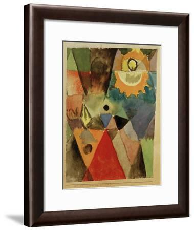 Still Life with Gas Lamp-Paul Klee-Framed Giclee Print