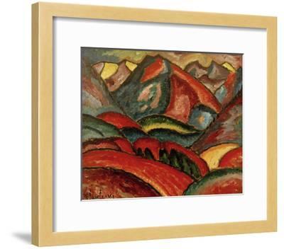 Oberstdorf, landscape-Alexej Von Jawlensky-Framed Giclee Print