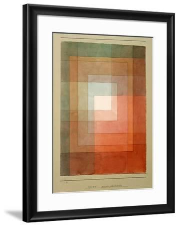White Framed Polyphonically-Paul Klee-Framed Giclee Print
