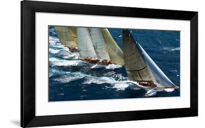 Close Racing-Onne van der Wal-Framed Art Print