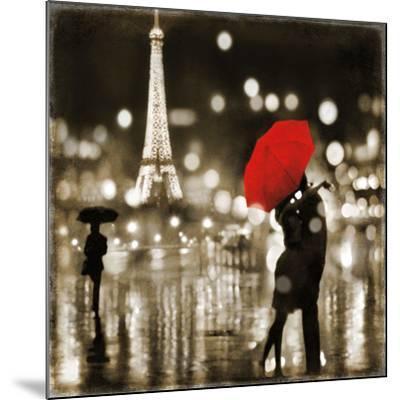 A Paris Kiss-Kate Carrigan-Mounted Art Print