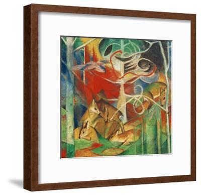 Deer in the Forest I-Franz Marc-Framed Giclee Print