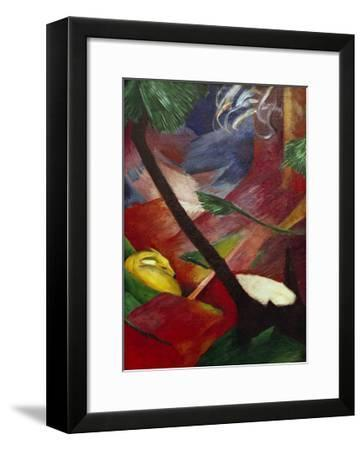 Deer in the Forest II-Franz Marc-Framed Giclee Print