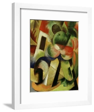 Small Composition II-Franz Marc-Framed Giclee Print