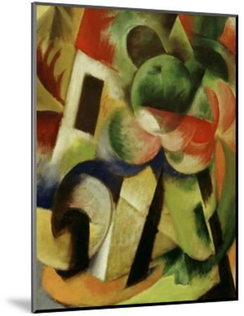Small Composition II-Franz Marc-Mounted Giclee Print